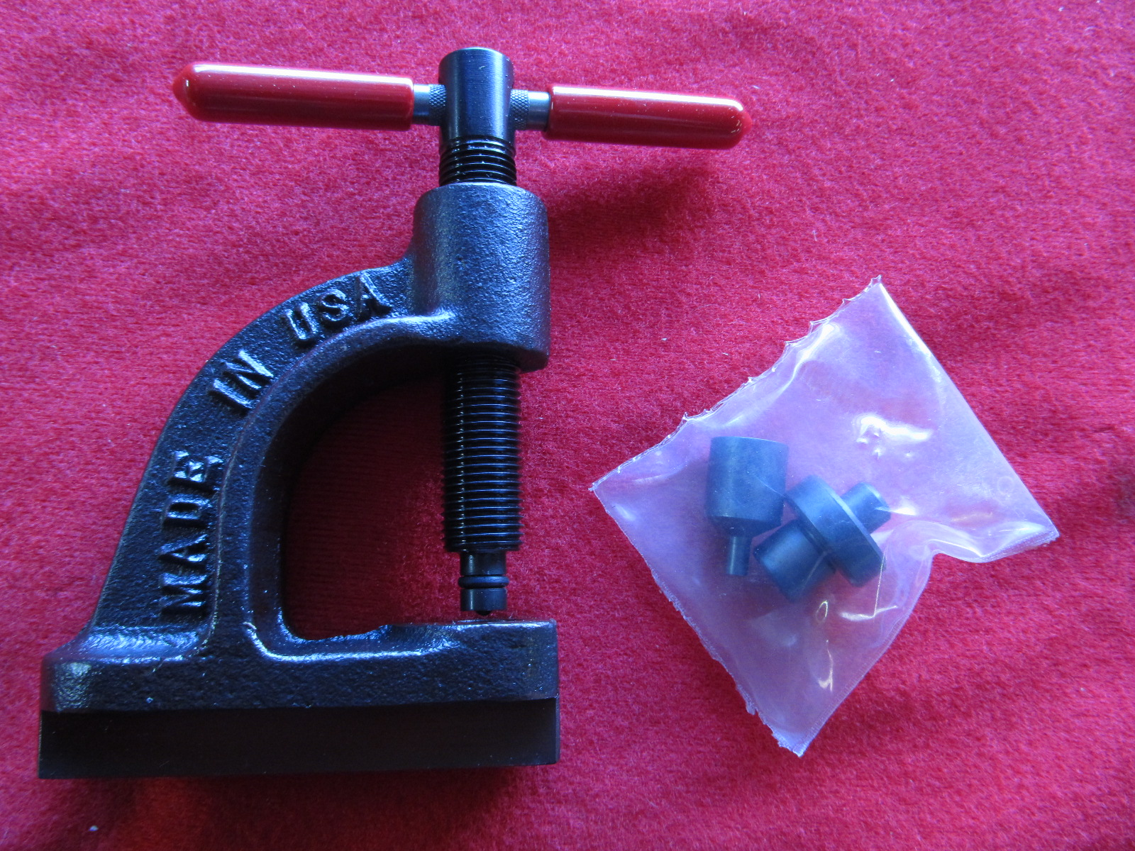 Brake Pad Rivets : Servicing fletchair parts